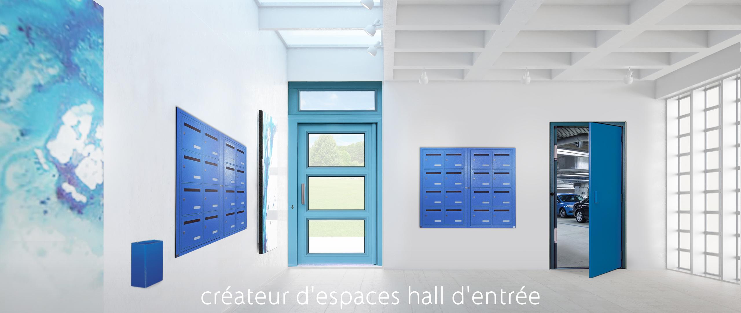 cr�ateur d'espaces hall d'entr�e - cibox